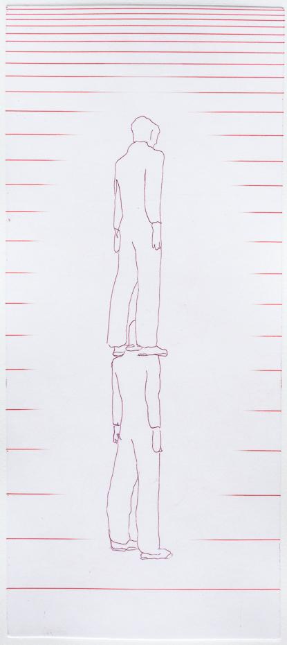 Standing figures