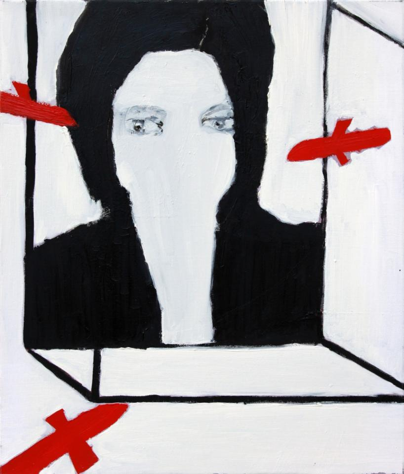 Terror, Oil on canvas, 2006