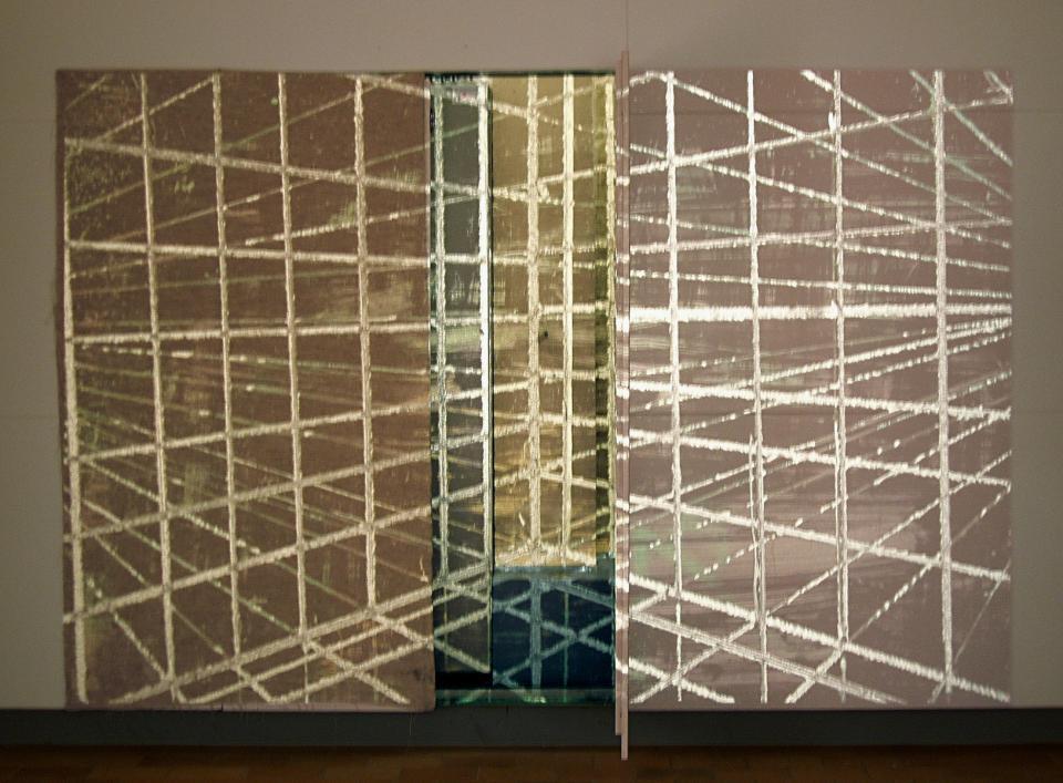 Grid, Drawing on reversal film, 2004