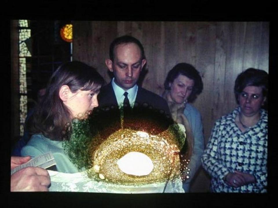 Object#02, Burned hole in reversal film, 2005