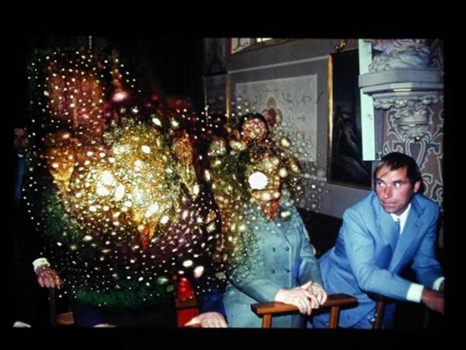 Object#04, Burned hole in reversal film, 2005