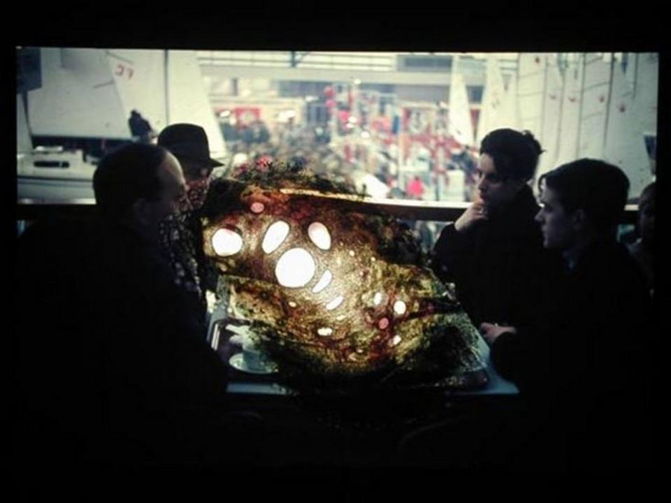 Object#06, Burned hole in reversal film, 2005