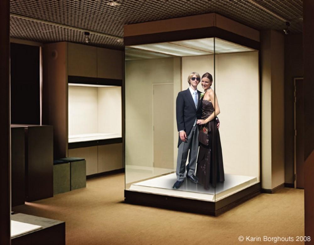 Le désir mimétique/ facebooktravestie - Original by Karin Borghouts, 2009