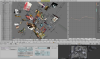 Netwerk der Lusten - 3D netwerk program (Blender 3D) screenshot