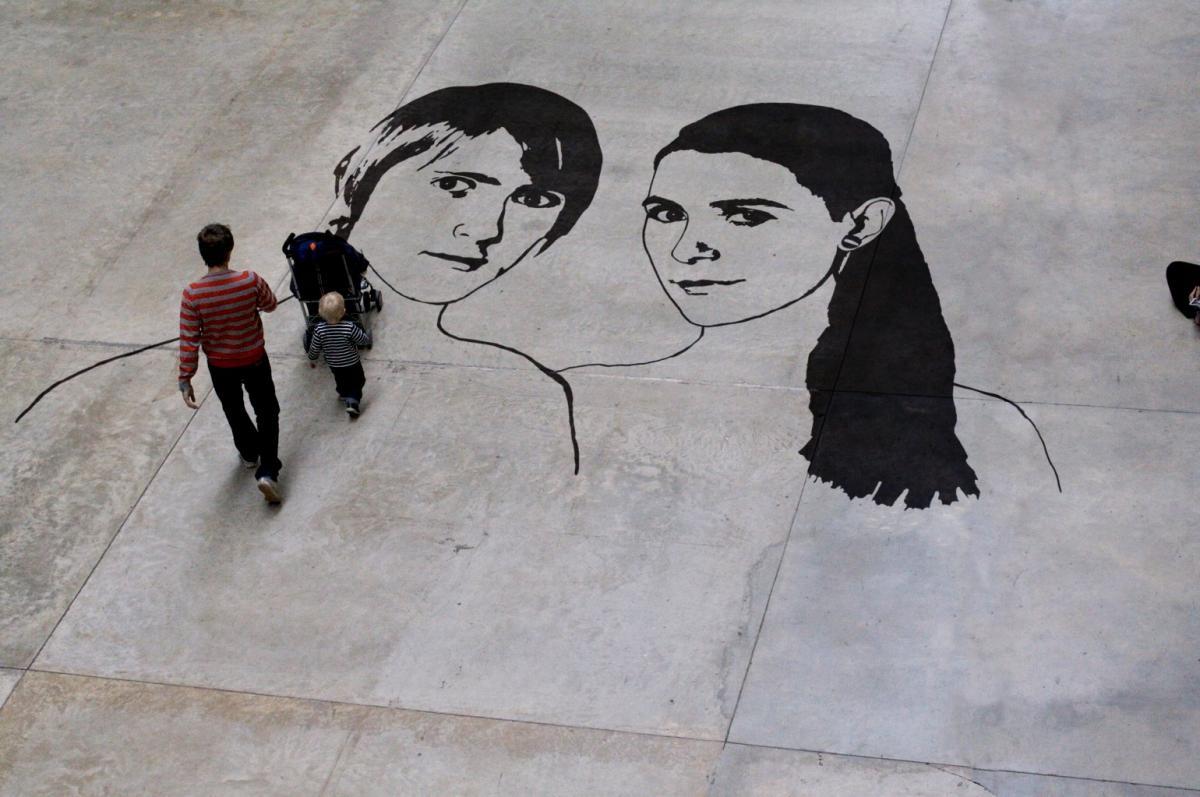 Photo montage - Tate Modern - original: http://www.flickr.com/photos/nics_events/2335062512/