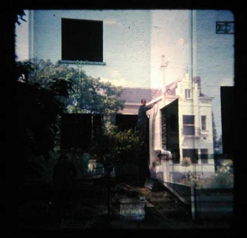 The artist at work, Reversal film montage, 2005
